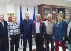 Επίσκεψη Παραστατίδη στο Δήμαρχο Παιονίας