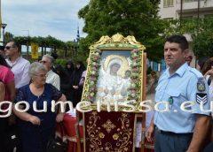 Περιφορές, επιταφίου και εικόνας της Παναγίας Γουμένισσας